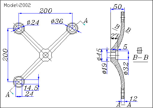albang spider fittings for architectural glazing