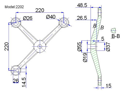 spider fittings glass canopy usa for structural glass wall