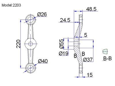 adjustable spider fittings for planar glazing