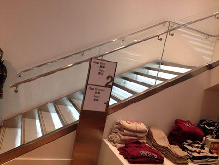 handrail bracket for glazed balustrade project 2